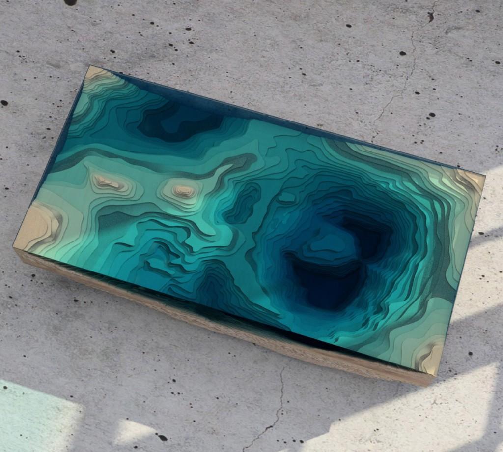 design mobila masa abyss