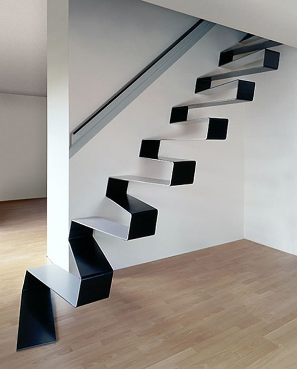 Amenajari-interioare-scari-interioare-metalice-alb-negru