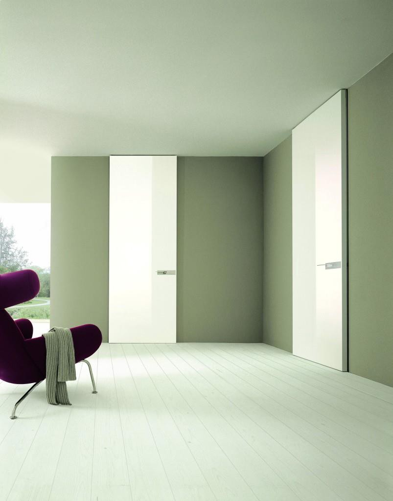 Amenajari interioare superbe cu usi interioare albe superbe