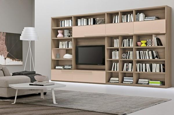 mobila sufragerie biblioteca si comoda TV