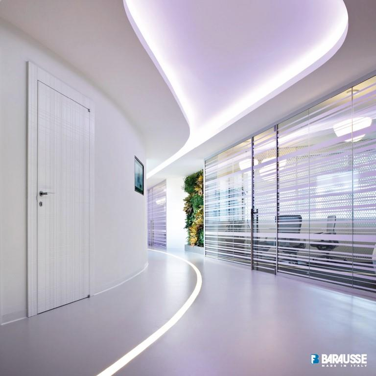 usi albe interiorare Moderne mari
