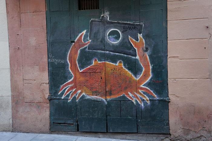 usi-pictate-selfie-crab-de-spania