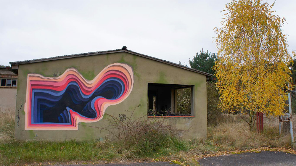 pictura pe perete
