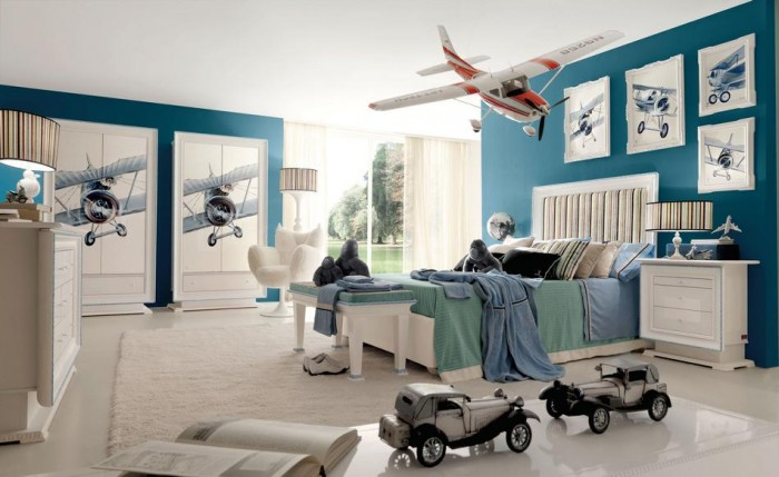camere-de-copii-baieti-avioane