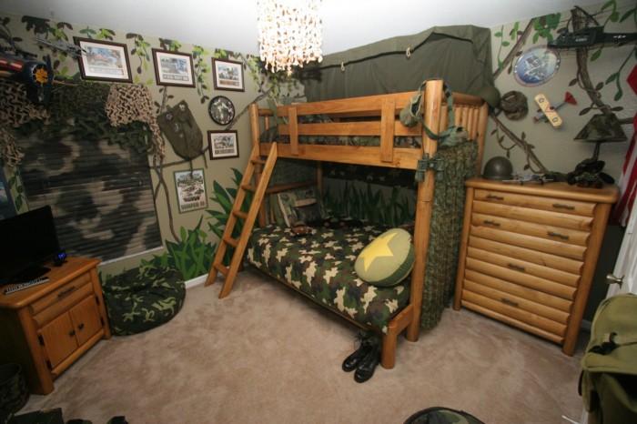 camere-de-copii-baieti-camuflaj