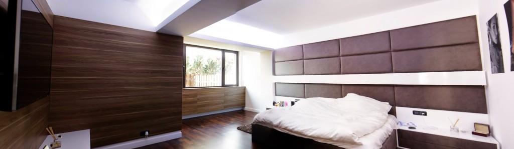 ansamblu placare perete dormitor