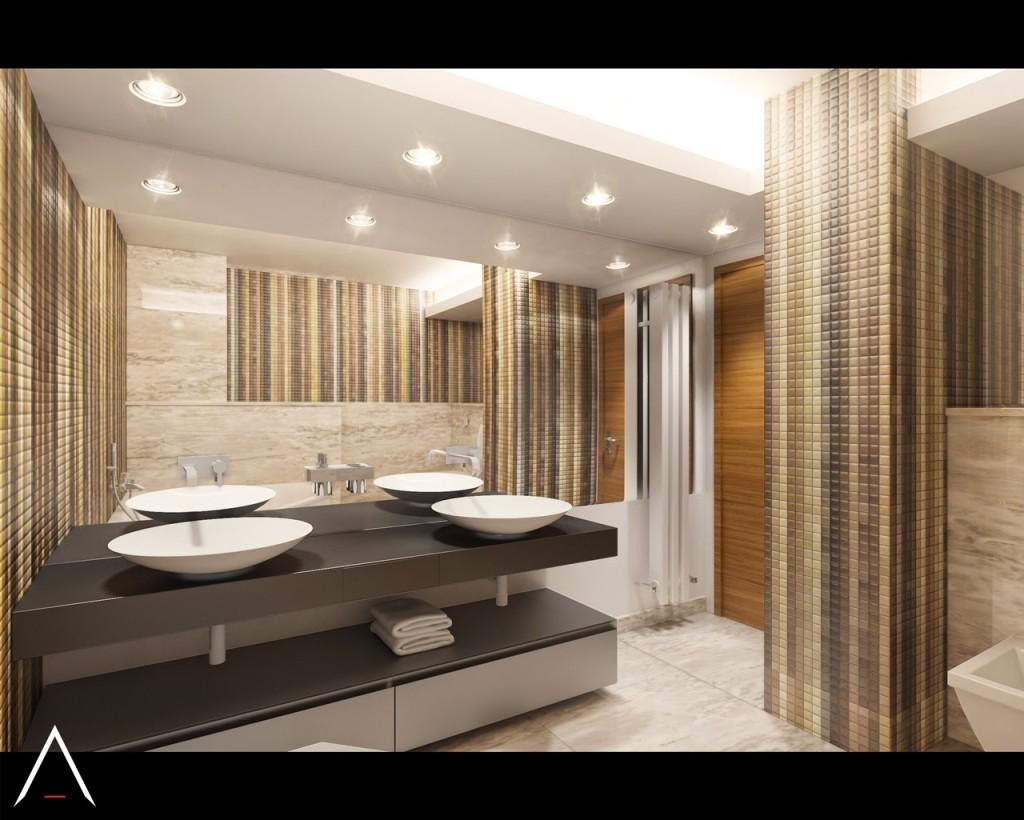 propunere initiala design interior baie