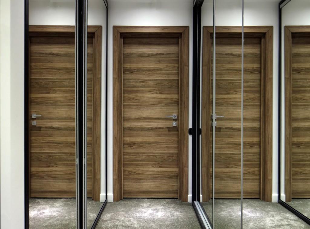 design interior brasov folosind usi interioare nuc