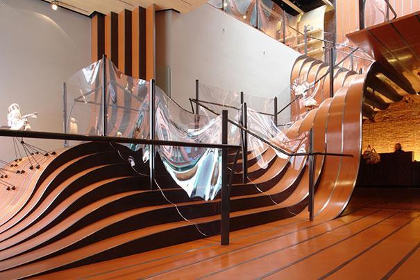 design creativ pentru scari interioare design fluid
