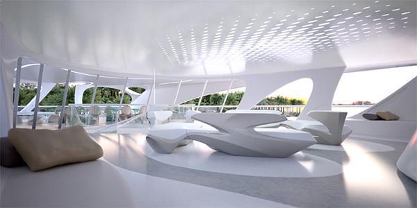 interioare moderne yahturi de lux