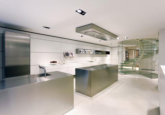 bucatarii moderne cu design fluid si imbinari de exceptie