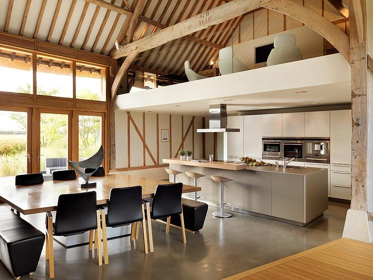 casa-rustica-bucatarie-moderna