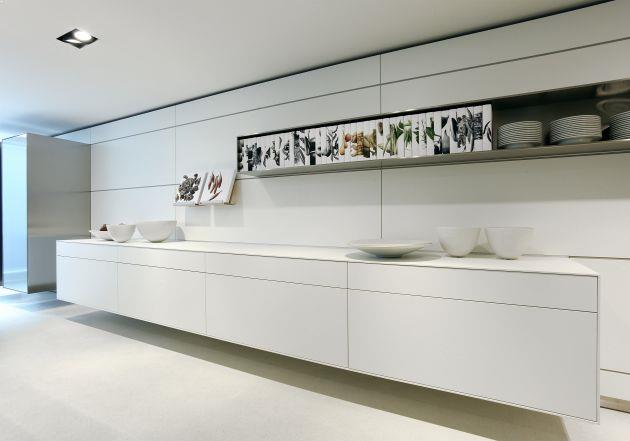 corp bucatarie moderna cu sertare mari