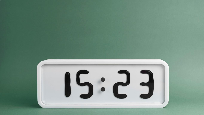2 ceas de masa afisaj fluid