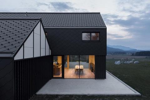 Acoperis casa clasica, vila de familie