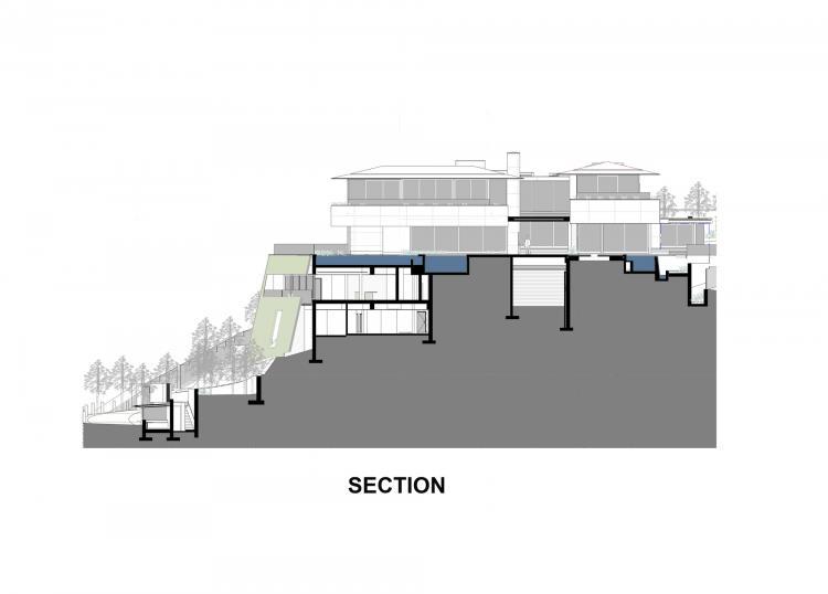 plan casa sectiune verticala