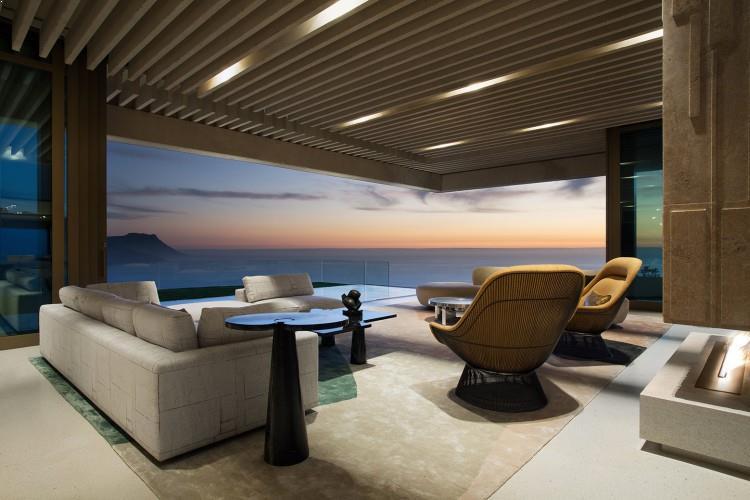 amenajare interior living modern