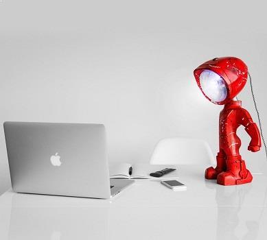 Lampa de birou ceramica + Lampster