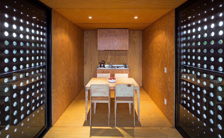 interior casa container