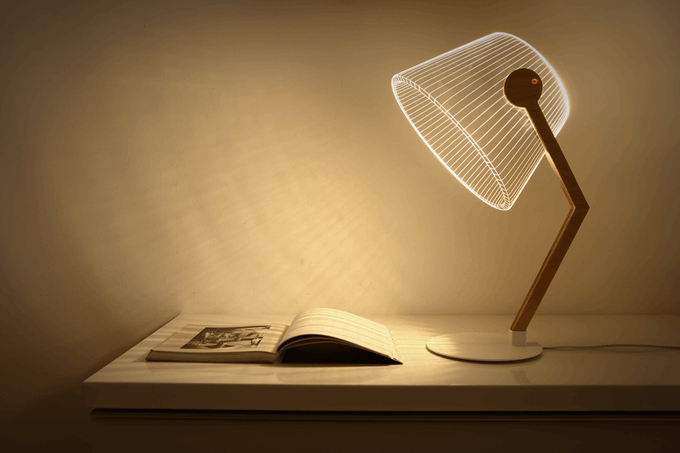 iluminat cu led lampa carte led