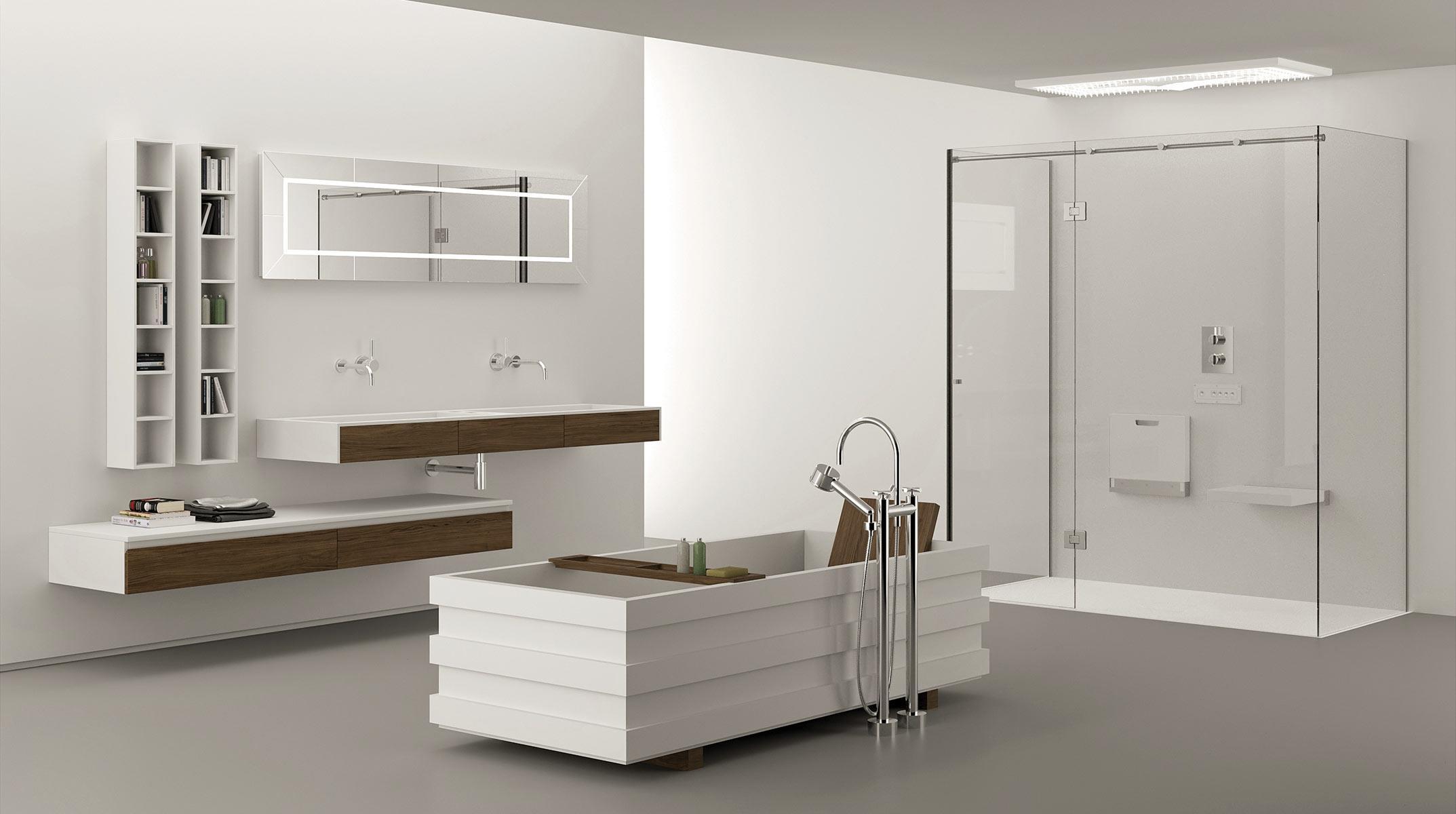 Amenajari bai moderne by momadesign amenajari interioare poze idei inspiratie - Mobile bagno contemporaneo ...