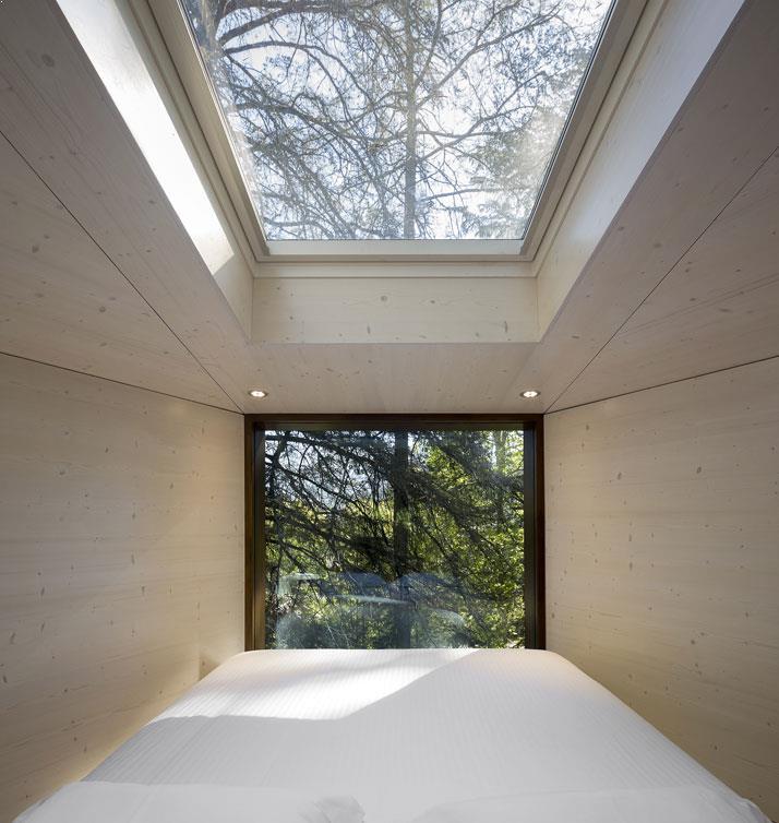 Amenajari interioare casa din copac