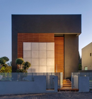 Design exterior contrastant