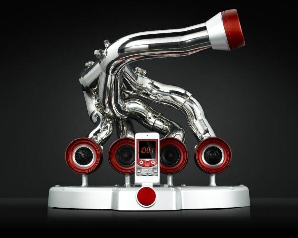 Mecanica sunetului si design italian