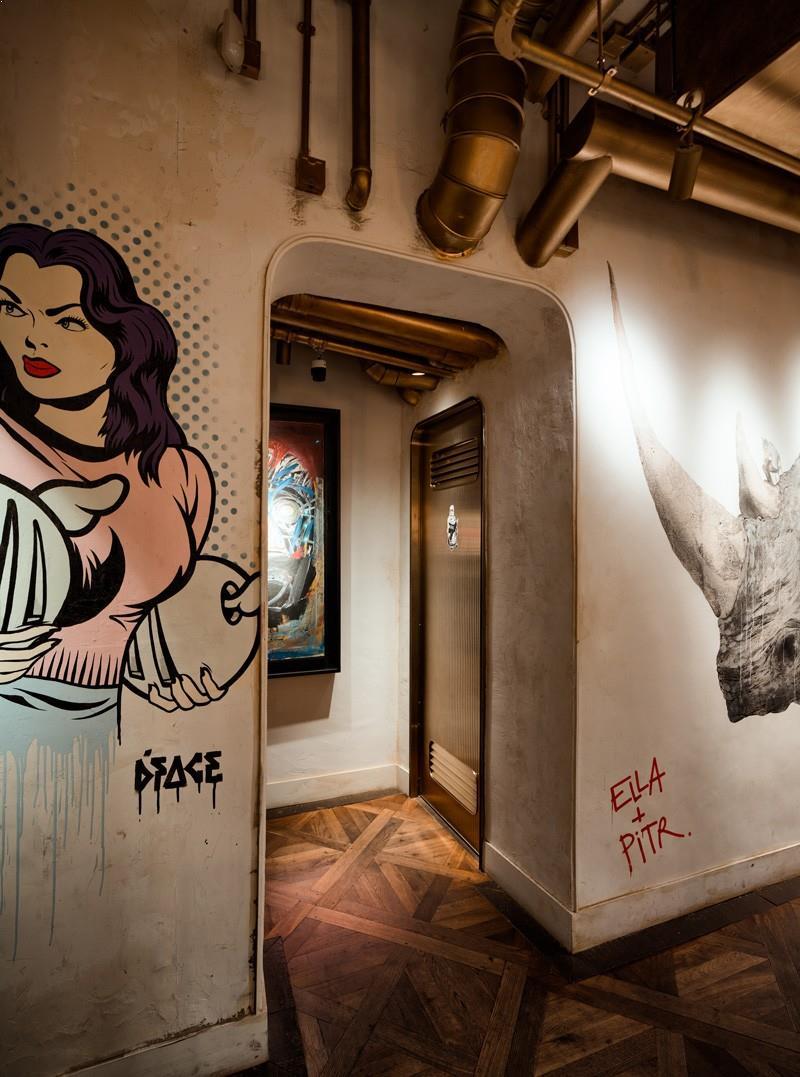 decoratiuni_perete_restaurant design restaurant