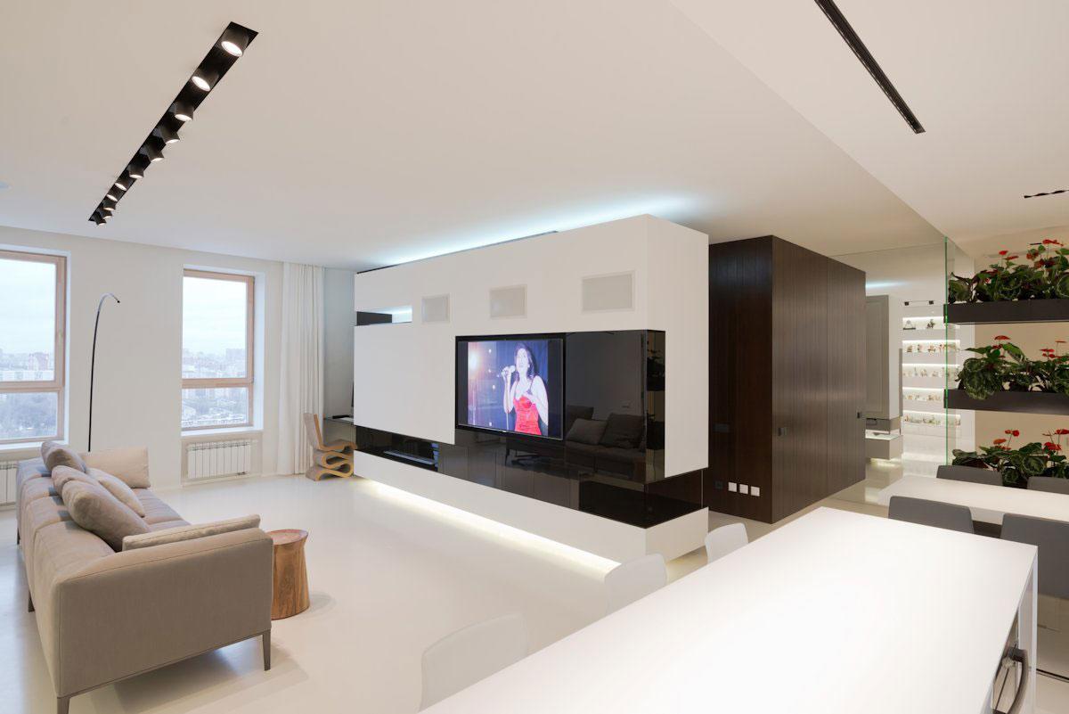 amenajari interioare living modern