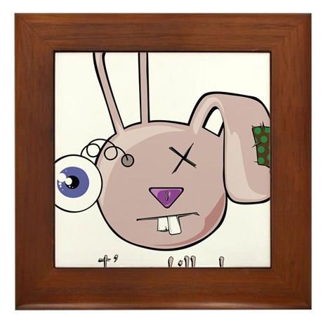ugly_mutt_im_a_killer_rabbit_pink_framed_tile