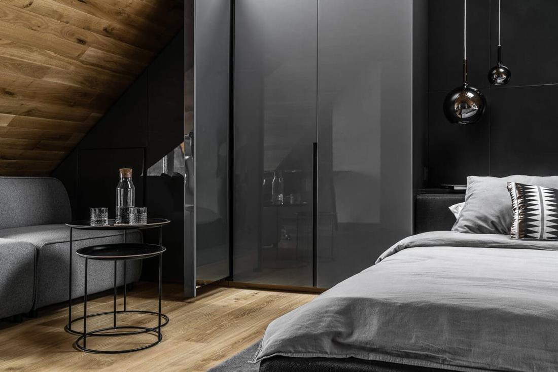 Amenajare_interioara_apartament_mansarda_negru