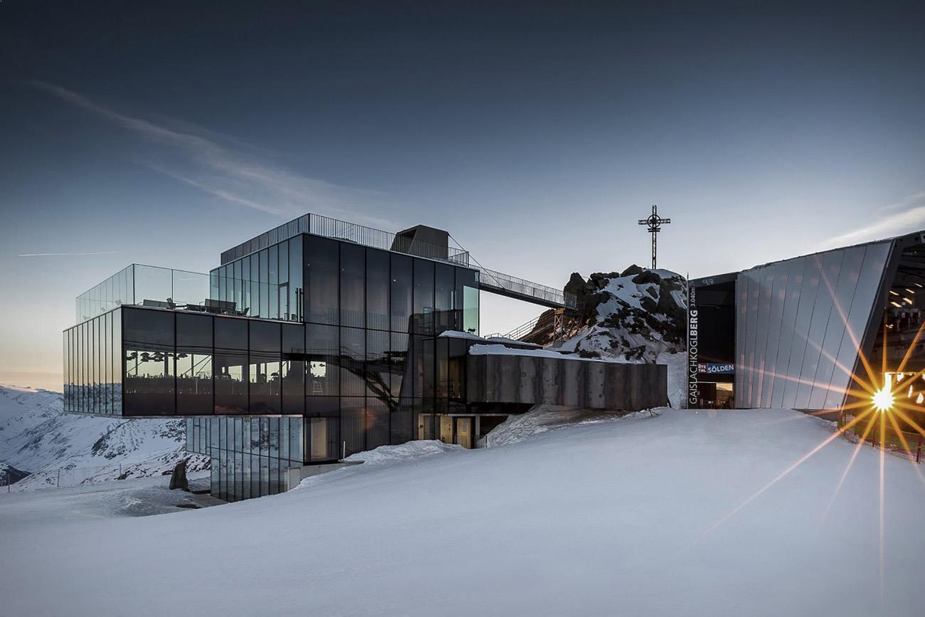 arhitectura moderna restaurant Austria