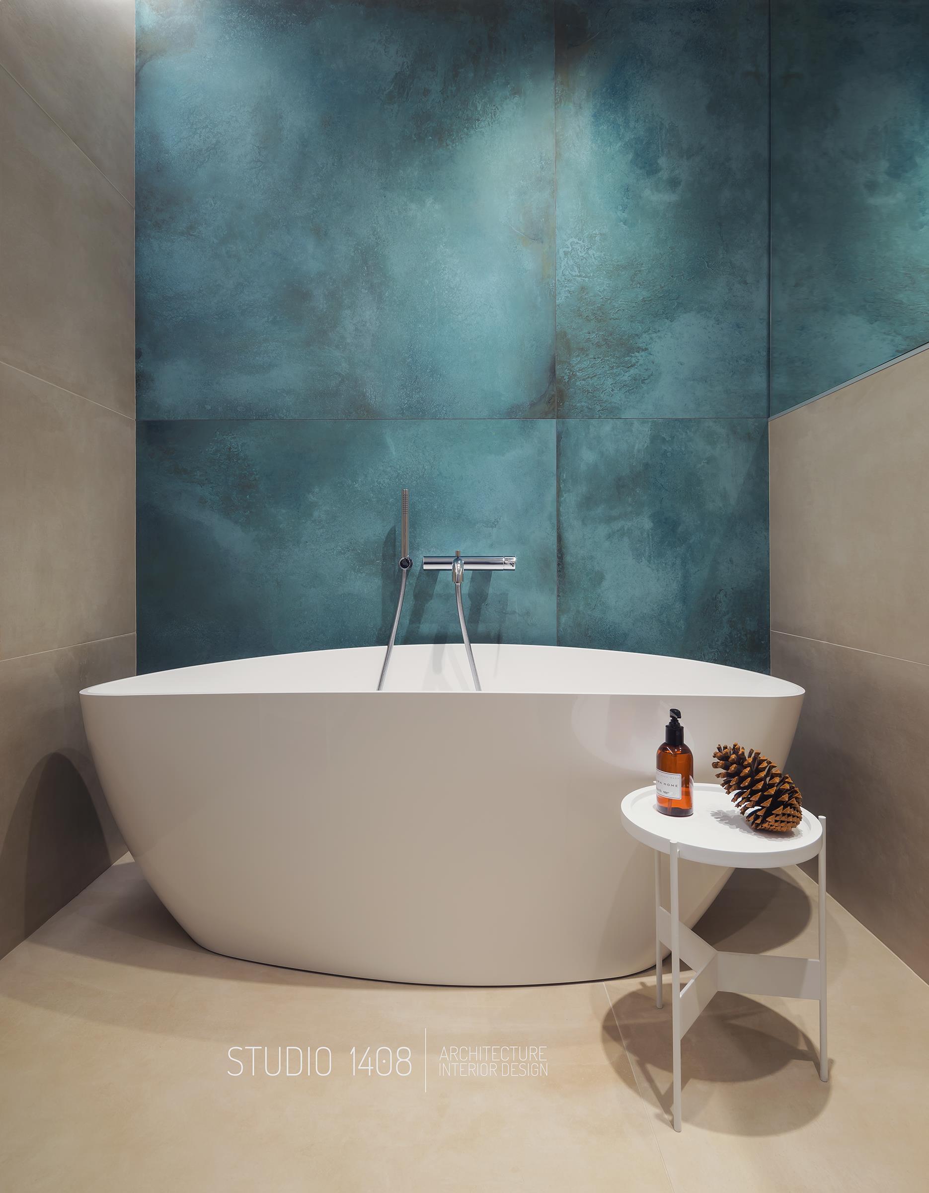 decoratiuni baie perete cada