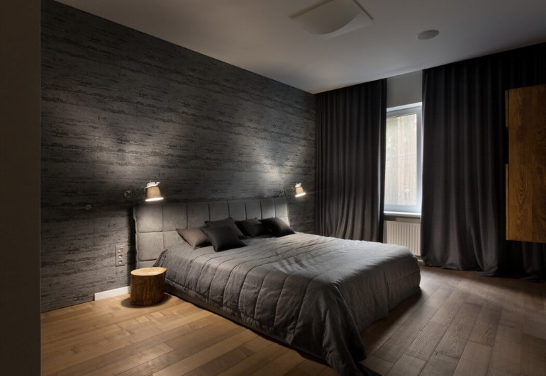 dormitor eco minimalist Casa Cub
