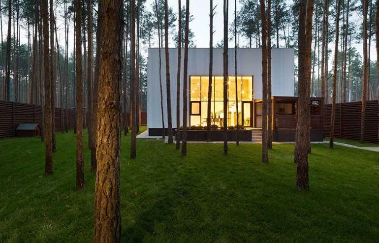 Casa Cub amenajare minimalista