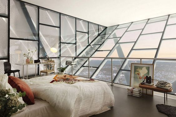 Dormitor in mansarda inspiratie pentru amenajare