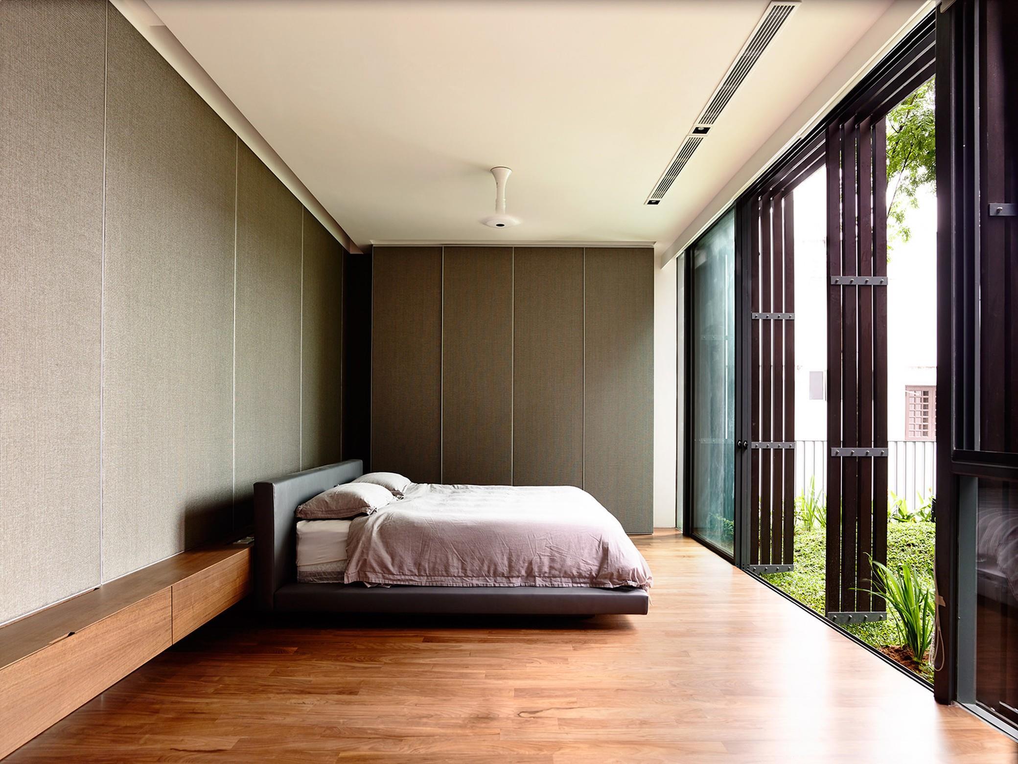 interioare zen dormitor în armonie cu natura