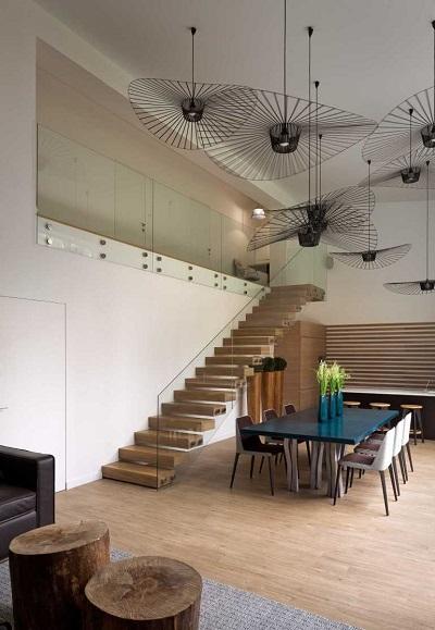 Casa Cub stil eco-minimalist